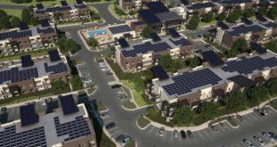 بناء مجمع سكني ضخم في أميركا يعمل بـ«الطاقة الشمسية»