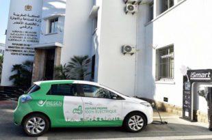 أول محطة ذكية لشحن العربات الكهربائية مائة في المائة مغربية (iSmart)