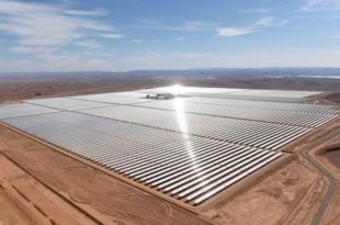 خطي مغربيه متسارعة للأستثمارات في الطاقة المتجدده