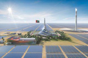 الطاير: هدفنا وضع ألواح الطاقة الشمسية على جميع مباني دبي بحلول 2030