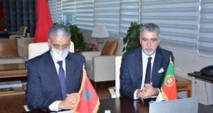 المغرب يوقع إعلانا للتعاون مع البرتغال لتطوير الهيدروجين الأخضر