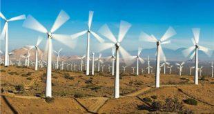 محطات الرياح تسعى للصدارة عالميا لتوليد الكهرباء