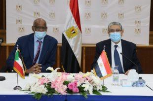 من رفع قدرات خط الربط بين مصر والسودان في سبتمبر 2022