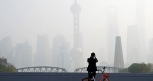 الصين تشكل خطر بيئي
